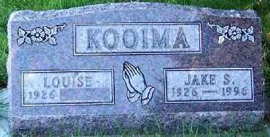KOOIMA, JAKE S. - Sioux County, Iowa | JAKE S. KOOIMA
