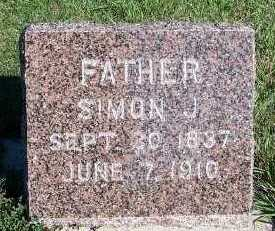 KOOIMA, SIMON J. - Sioux County, Iowa | SIMON J. KOOIMA