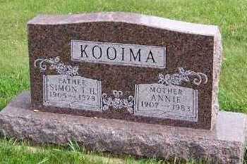 KOOIMA, SIMON T.H. - Sioux County, Iowa | SIMON T.H. KOOIMA