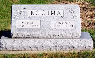 KOOIMA, SIMON S. - Sioux County, Iowa | SIMON S. KOOIMA