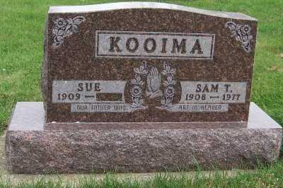 KOOIMA, SAM T. - Sioux County, Iowa | SAM T. KOOIMA
