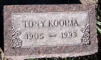 KOOIMA, TONY - Sioux County, Iowa | TONY KOOIMA