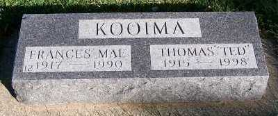 KOOIMA, THOMAS (TED) - Sioux County, Iowa | THOMAS (TED) KOOIMA