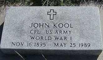 KOOL, JOHN - Sioux County, Iowa | JOHN KOOL