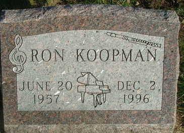 KOOPMAN, RON - Sioux County, Iowa | RON KOOPMAN