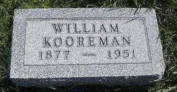 KOOREMAN, WILLIAM - Sioux County, Iowa | WILLIAM KOOREMAN