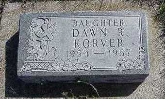 KORVER, DAWN R. - Sioux County, Iowa | DAWN R. KORVER