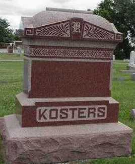 KOSTERS, HEADSTONE - Sioux County, Iowa | HEADSTONE KOSTERS