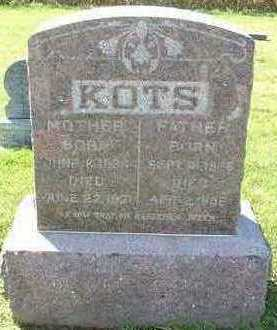 KOTS, FATHER  D.1896 - Sioux County, Iowa | FATHER  D.1896 KOTS