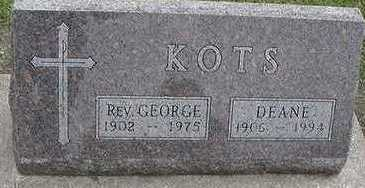 KOTS, GEORGE REV. - Sioux County, Iowa | GEORGE REV. KOTS