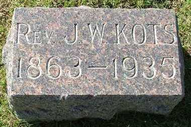 KOTS, J. W. REV. - Sioux County, Iowa | J. W. REV. KOTS