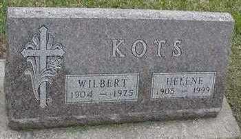 KOTS, HELENE (MRS. WILBERT) - Sioux County, Iowa | HELENE (MRS. WILBERT) KOTS
