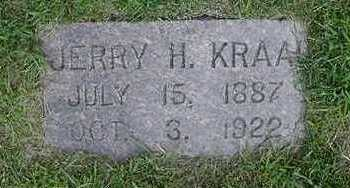 KRAAI, JERRY  H. - Sioux County, Iowa | JERRY  H. KRAAI