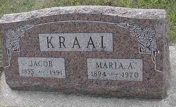 KRAAI, JACOB - Sioux County, Iowa | JACOB KRAAI