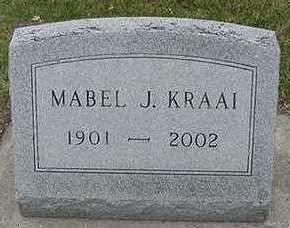 KRAAI, MABEL J. - Sioux County, Iowa | MABEL J. KRAAI