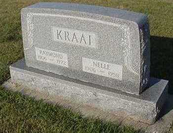 KRAAI, NELLIE (MRS. RAYMOND) - Sioux County, Iowa | NELLIE (MRS. RAYMOND) KRAAI