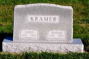 KRAMER, JENNIE - Sioux County, Iowa | JENNIE KRAMER