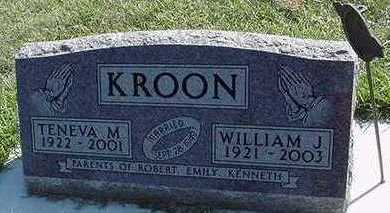 KROON, TENEVA (MRS. WILLIAM) - Sioux County, Iowa | TENEVA (MRS. WILLIAM) KROON