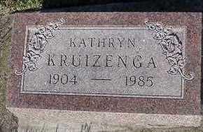 KRUIZENA, KATHRYN - Sioux County, Iowa | KATHRYN KRUIZENA