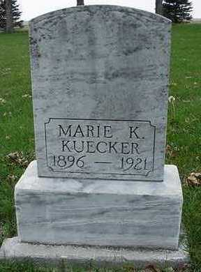 KUECKER, MARIE K. - Sioux County, Iowa | MARIE K. KUECKER
