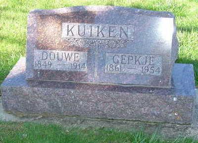 KUIKEN, DOUWE - Sioux County, Iowa | DOUWE KUIKEN