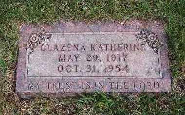 KUIPER, CLAZENA KATHERINE - Sioux County, Iowa | CLAZENA KATHERINE KUIPER
