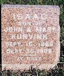 KURVINK, ISAAC (SON OF JOHN & MARY) - Sioux County, Iowa | ISAAC (SON OF JOHN & MARY) KURVINK