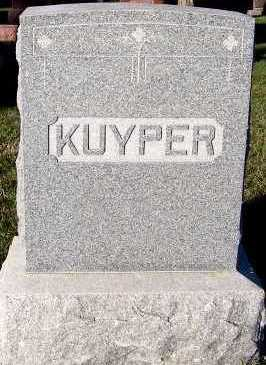 KUYPER, FAMILY HEADSTONE - Sioux County, Iowa | FAMILY HEADSTONE KUYPER