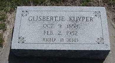 KUYPER, GIJSBERTJE - Sioux County, Iowa | GIJSBERTJE KUYPER