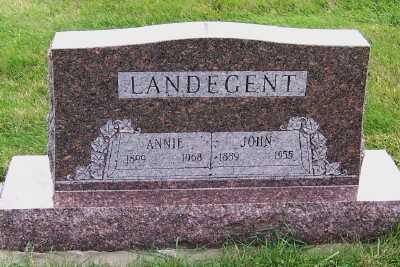LANDEGENT, ANNIE - Sioux County, Iowa | ANNIE LANDEGENT