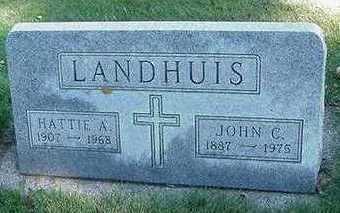 LANDHUIS, JOHN C. - Sioux County, Iowa | JOHN C. LANDHUIS