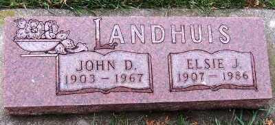 LANDHUIS, ELSIE J. - Sioux County, Iowa | ELSIE J. LANDHUIS