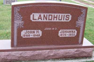 LANDHUIS, JOHN H. - Sioux County, Iowa | JOHN H. LANDHUIS