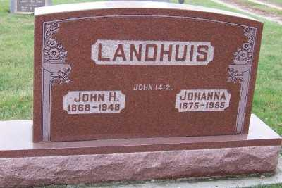 LANDHUIS, JOHANNA - Sioux County, Iowa | JOHANNA LANDHUIS