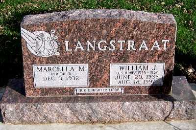 LANGSTRAAT, WILLIAM J. - Sioux County, Iowa | WILLIAM J. LANGSTRAAT