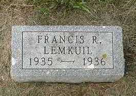 LEEMKUIL, FRANCIS R. - Sioux County, Iowa | FRANCIS R. LEEMKUIL