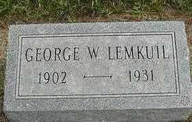 LEEMKUIL, GEORGE W. - Sioux County, Iowa | GEORGE W. LEEMKUIL