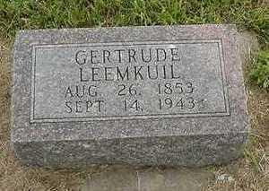 LEEMKUIL, GERTRUDE - Sioux County, Iowa | GERTRUDE LEEMKUIL