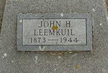 LEEMKUIL, JOHN H. - Sioux County, Iowa | JOHN H. LEEMKUIL