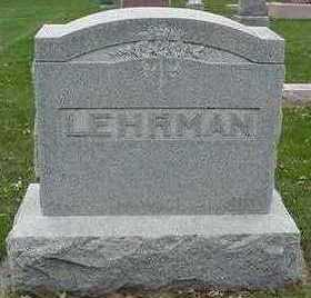 LEHRMAN, HEADSTONE - Sioux County, Iowa | HEADSTONE LEHRMAN