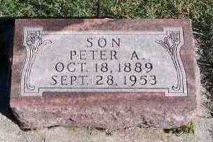 LEISTRA, PETER A. - Sioux County, Iowa | PETER A. LEISTRA