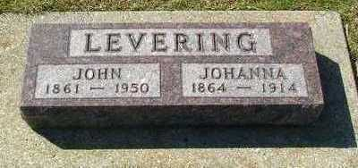 LEVERING, JOHANNA (MRS. JOHN) - Sioux County, Iowa | JOHANNA (MRS. JOHN) LEVERING
