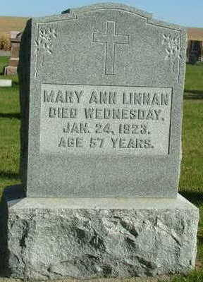 LINNAN, MARY ANN - Sioux County, Iowa | MARY ANN LINNAN