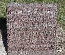 LLEUSINK, HYMEN ELMER - Sioux County, Iowa | HYMEN ELMER LLEUSINK