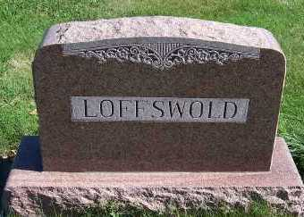 LOFFSWOLD, HEADSTONE - Sioux County, Iowa | HEADSTONE LOFFSWOLD