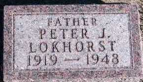 LOKHORST, PETER J. - Sioux County, Iowa | PETER J. LOKHORST