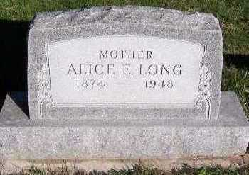LONG, ALICE E. - Sioux County, Iowa | ALICE E. LONG