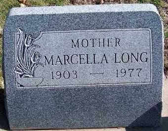 LONG, MARCELLA - Sioux County, Iowa | MARCELLA LONG