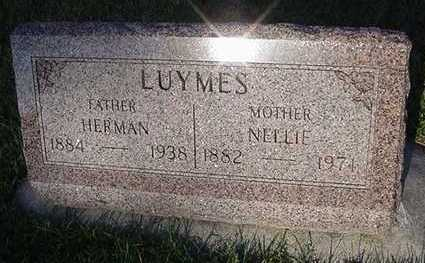 LUYMES, NELLIE (MRS. HERMAN) - Sioux County, Iowa | NELLIE (MRS. HERMAN) LUYMES