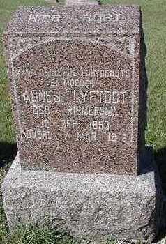 LYFTOGT, AGNES - Sioux County, Iowa | AGNES LYFTOGT